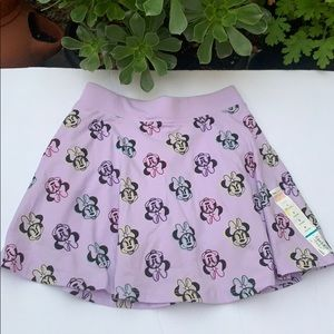 Disney Minnie Mouse purple skooter skirt - 8